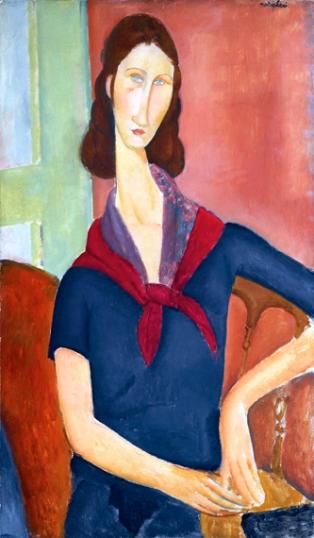 Jeanne Hébuterne (Au Foulard) 1919
