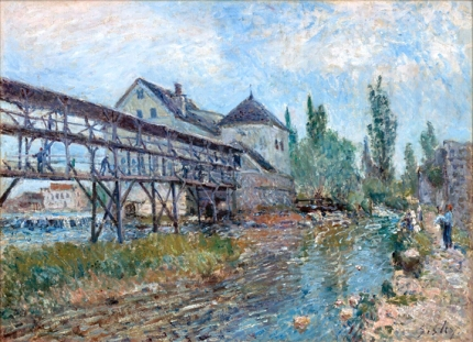 Watermill near Moret