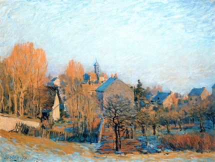 Frosty Morning in Louveciennes 1873