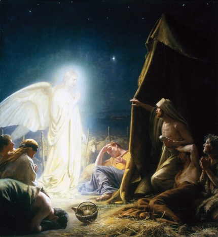 The Sheperds And The Angel