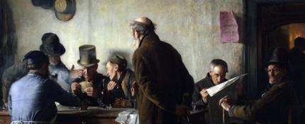 Old Men In A Public House