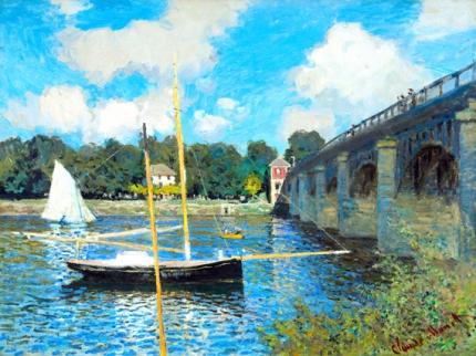 The Bridge at Argenteuil, 1874