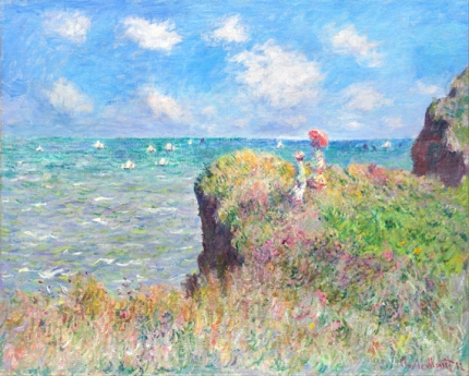Cliff Walk at Pourville 1882