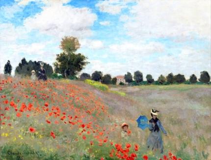 Poppy Field 1873