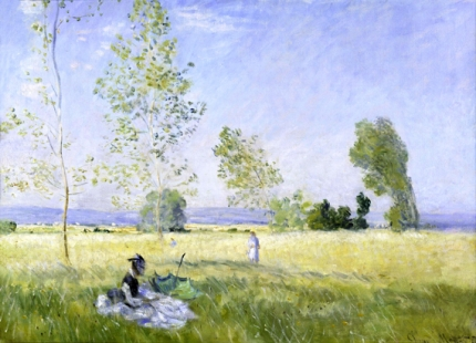 Summer (Meadow at Bezons), 1874