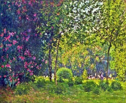 Parc Monceau, 1878
