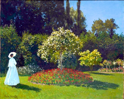 Lady In the Garden (1867)