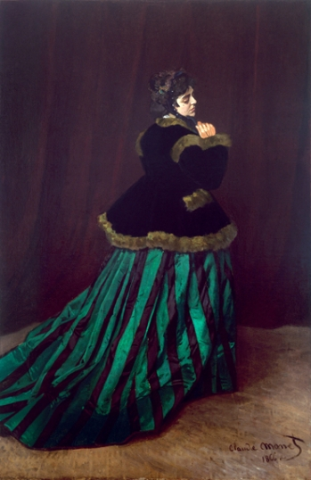Camille (Also Known As the Woman In A Green Dress), 1866