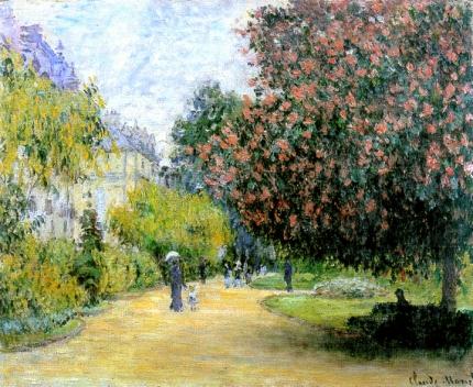 Parc Monceau, 1876