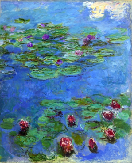 Water Lilies Red, 1914-19