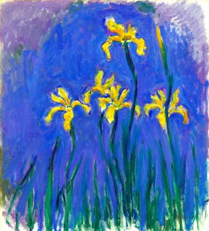 Yellow Irises 1917