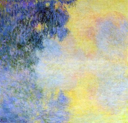 Misty Morning On the Seine, Sunrise, 1897
