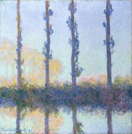 Poplars (Four Trees), 1891