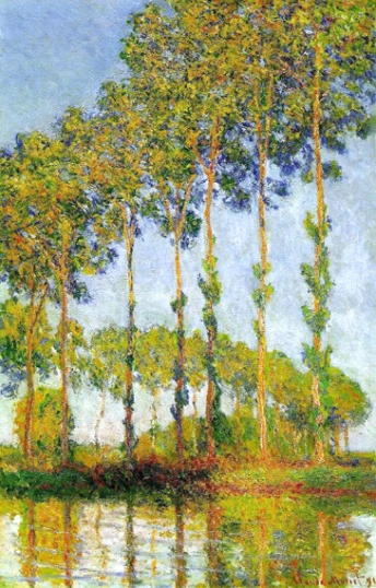 Rows of Poplars 1891