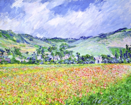 The Poppy Field near Giverny