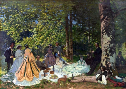 Luncheon On the Grass 1866