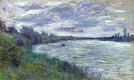 The Seine near Vetheuil, Stormy Weather, 1878