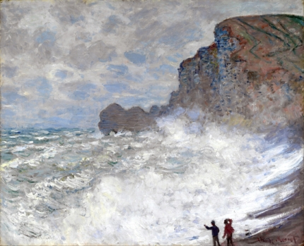 Rough Weather at Étretat