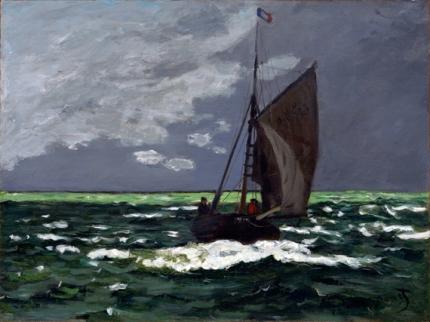 Seascape, Storm 1866