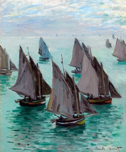 Bateaux De Pêche, Temps Calme