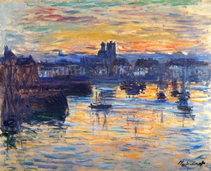The Port of Dieppe, Evening, 1882