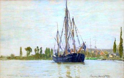 The Sailing Boat, 1871