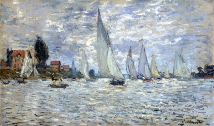 The Regatta at Argenteuil, Ca. 1874