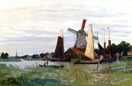 Un Moulin à Zaandam