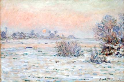 Winter Sun at Lavacourt, 1879-1880