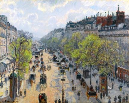 Le Boulevard Montmartre, Matinée de Printemps 1897