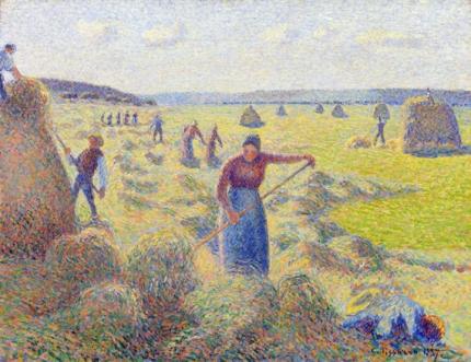 La Récolte des Foins, Éragny 1887