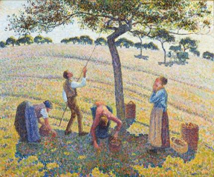 リンゴの収穫、エラニー