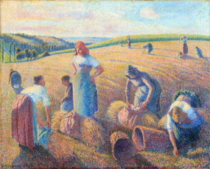 Les glaneuses, 1889