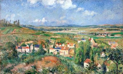 L'Hermitage in Summer, Pontoise 1877