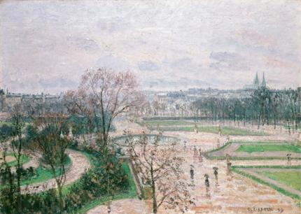 The Tuileries Garden in the Rain 1899