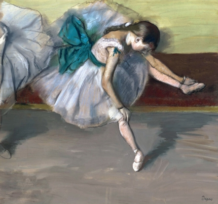 Danseuse Au Repos 1879