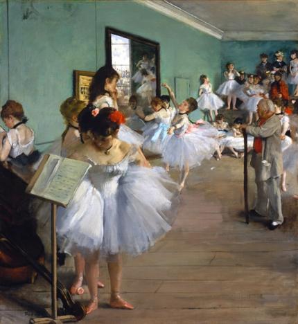 The Ballet Class 1874