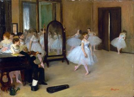 The Dancing Class 1872