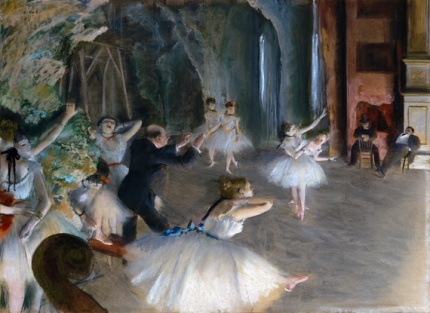 The Rehearsal Onstage 1874