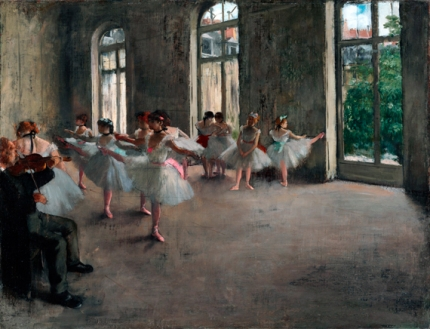 The Rehearsal 1873