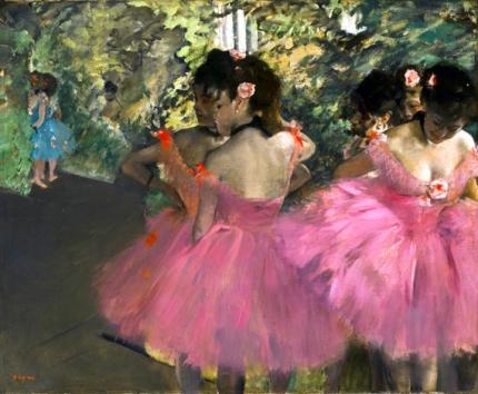 Dancers in Pink 1867