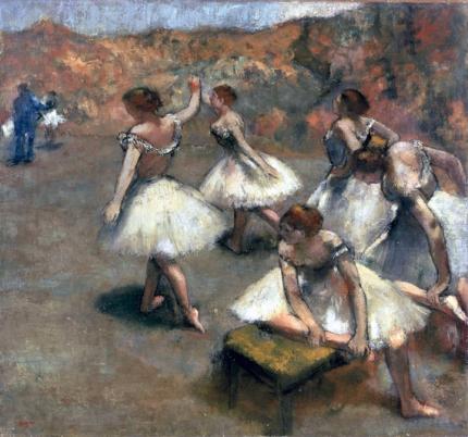 Danseuses Sur La Scène 1889