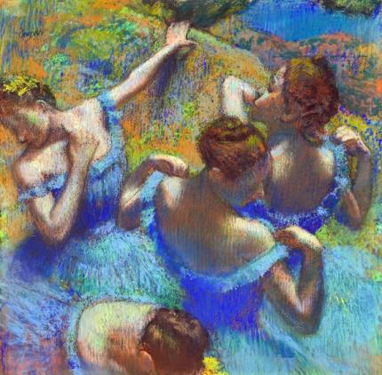 Blue Dancers