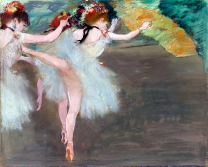 Danseuses En Blanc 1878