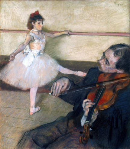 The Dance Lesson 1879