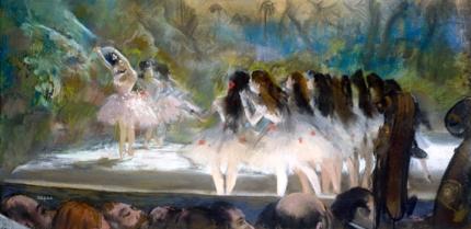 Ballet at the Paris Opéra 1877