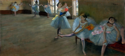 Dancers in the Classroom 1880