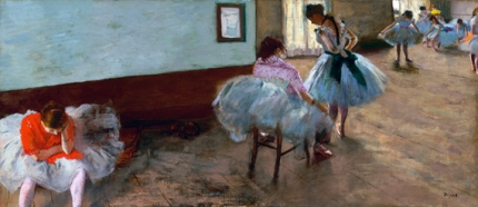 The Dance Lesson 1879