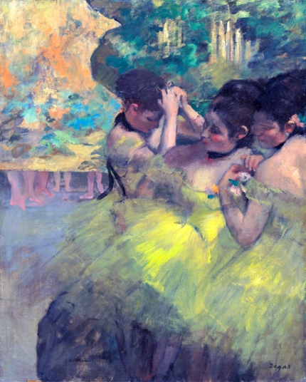Yellow Dancers