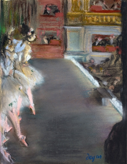 Dancers at the Old Opera House 1877
